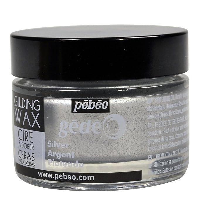 Pebeo Gedeo, Gilding Wax, 30 ml Bottle - Silver