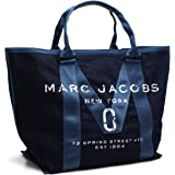 マーク・ジェイコブス MARC JACOBS ニュー ロゴ トート トートバッグ M0011123 423 DENIM ブルー系 [並行輸入品]