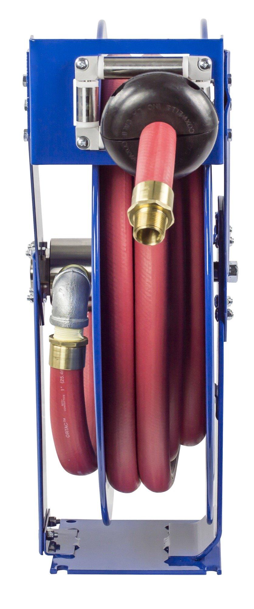 Coxreels EZ-TSHF-550 Safety System Spring Driven Fuel Hose Reel 3/4'' x 50' 300 psi