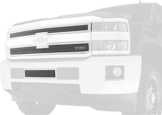 2 Piece T REX T-Rex 54932 Upper Class Mesh Polished Stainless Steel Grille Insert