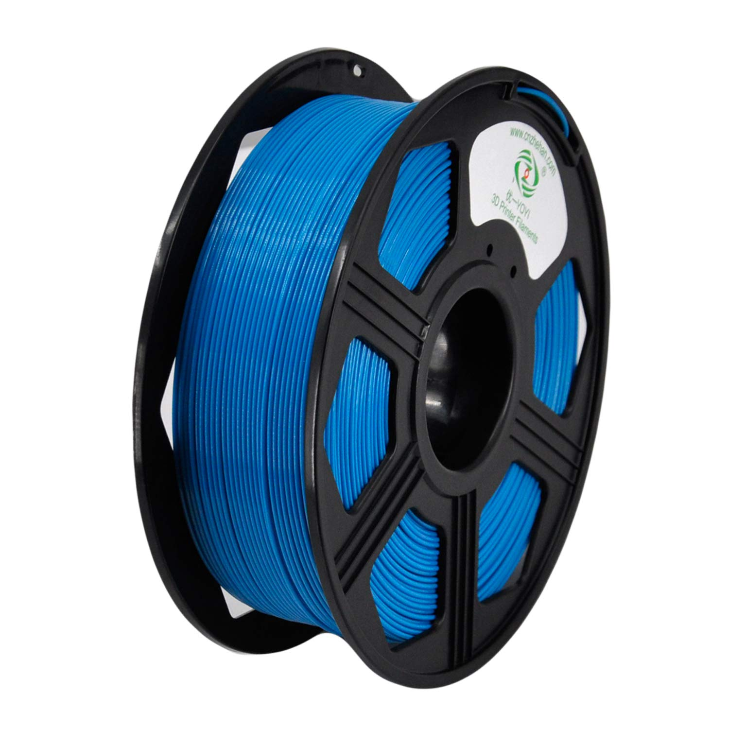 2.2 lbs YOYI PLA 3D Printer Filament 1.75mm 1KG Spool 100/% Virgin Raw Material Dimensional Accuracy +//- 0.03 mm,REACH Certificate,Eco-friendly Aqua Blue