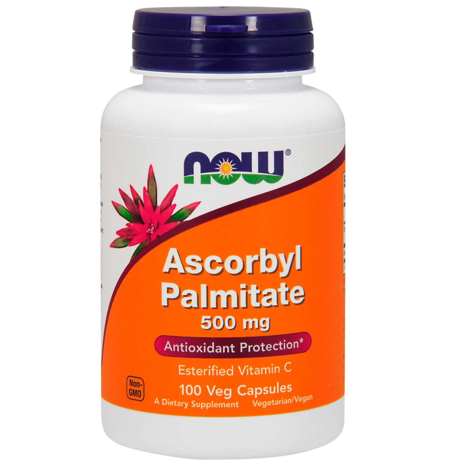 Ascorbyl Palmitate 500mg Now Foods 100 VCaps