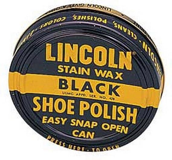 Amazoncom Usmc Lincoln Stain Wax Shoe Polish Black Clothing