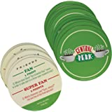 20 Friends Central Perk Trivia Drink Coasters - Featuring 40 Questions from the Show