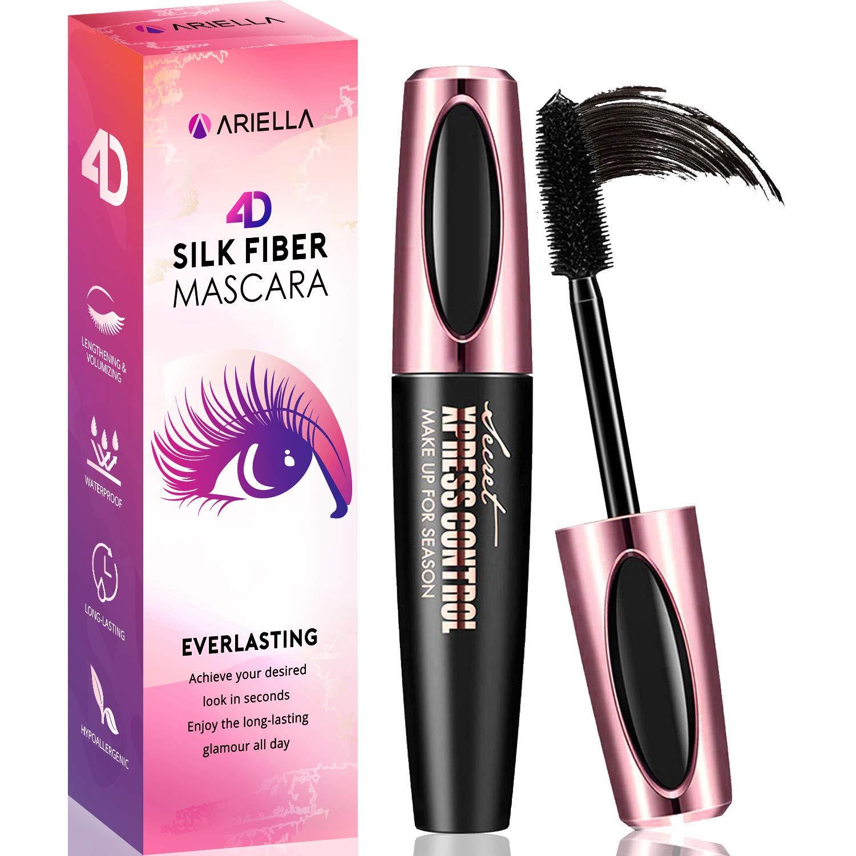 Ariella 4D Silk Fiber Lash Mascara Waterproof