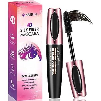 941e5ad041a Ariella 4D Silk Fiber Lash Mascara Waterproof, Luxuriously Longer 4D Mascara,  Waterproof Mascara,