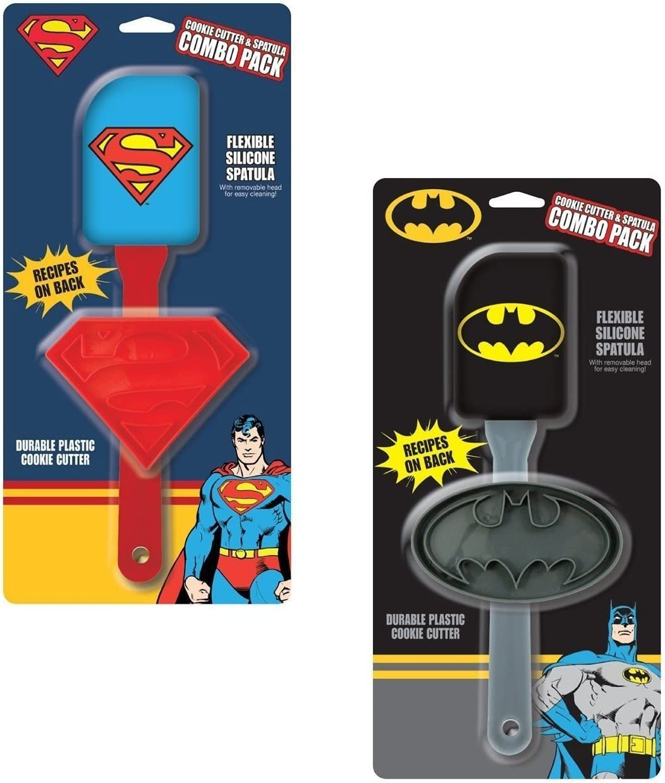 Batman Vs Superman DC Comics carácter galletas y espátula – Combo ...