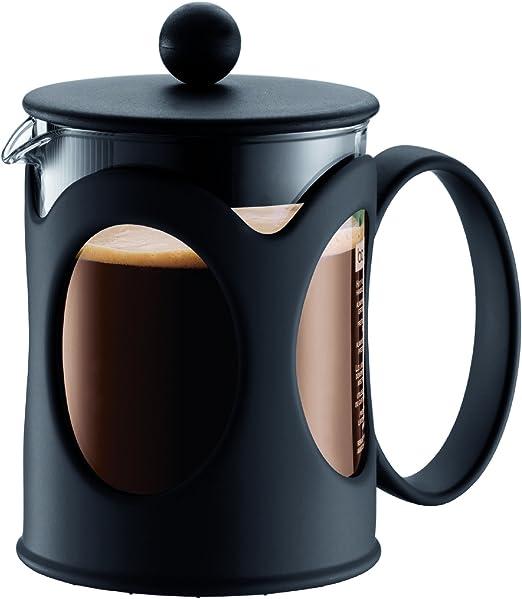 Bodum Kenya Cafetera émbolo, Vidrio, Metal, Negro, Centimeters: Amazon.es: Hogar