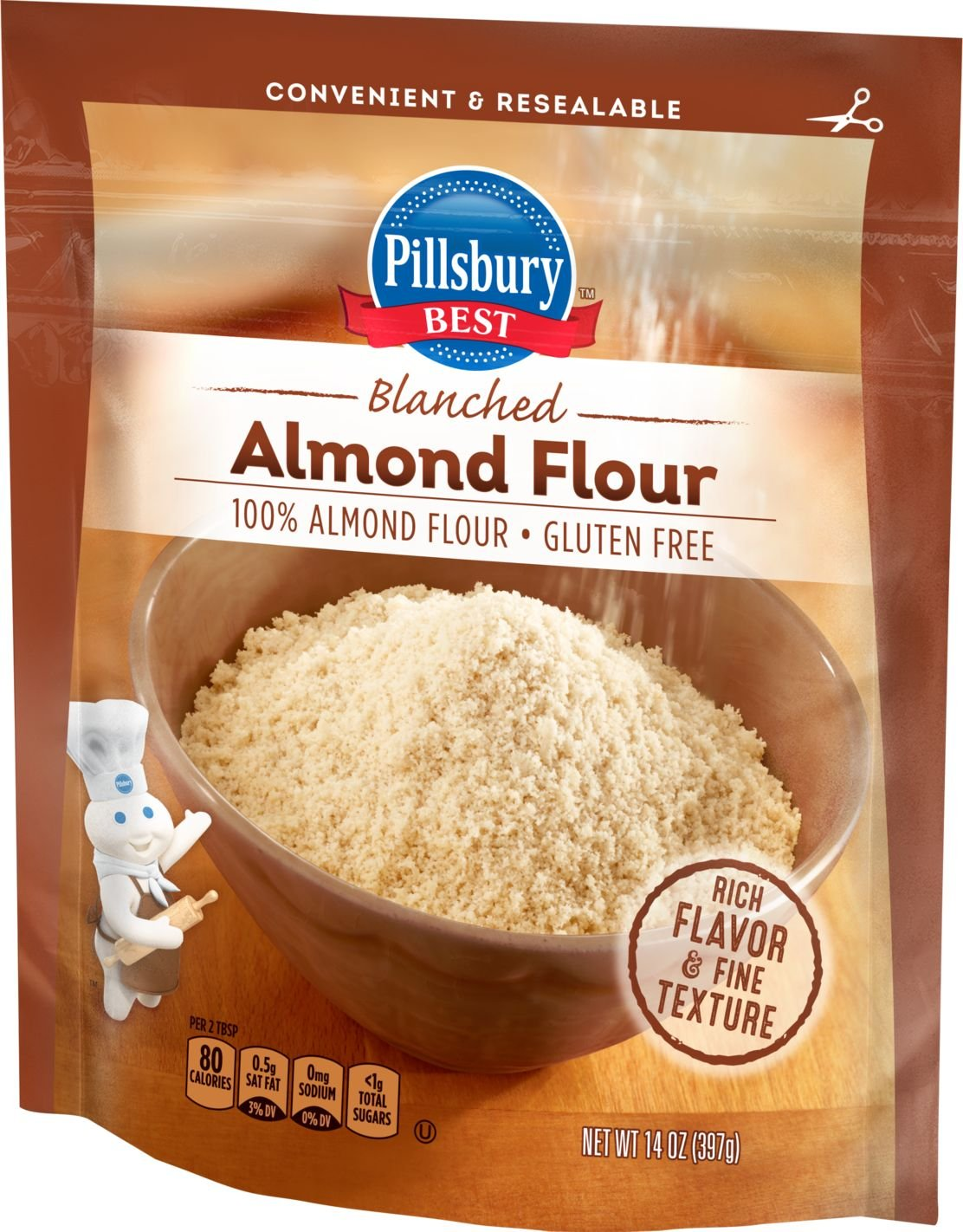 Pillsbury BEST Flour, Almond, 14 Ounce