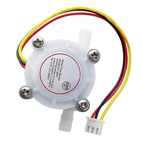 TOOGOO(R) 0.3-6L/Min DC 5-24V Sensor Hall de