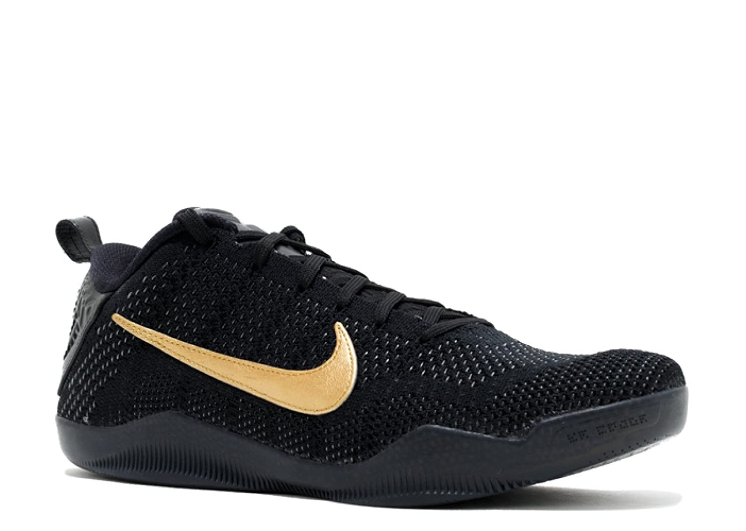 timeless design ff18c b2d9c Amazon.com   Nike Kobe 11 FTB Black Black-Metallic Gold 869459-001