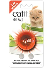 Catit 2.0 Senses Fireball Light Up Ball Toy for Cats, for use with the Senses Circuits