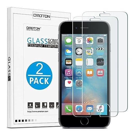 14 opinioni per OMOTON [2-Pack] Pellicole protettive per iPhone 6plus/6s plus 5.5 Inche
