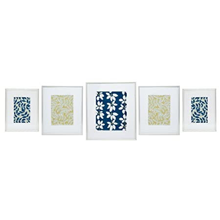 Debenhams Home Collection 5 Piece Silver Gallery Wall Pack Photo ...