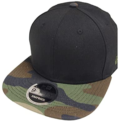 Image Unavailable. Image not available for. Color  New Era Blank Black Camo Snapback  Cap ... a2c592c7c