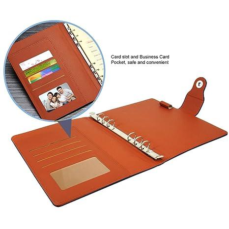 Amazon.com: Papel de repuesto EzSos, carpeta para cuaderno ...