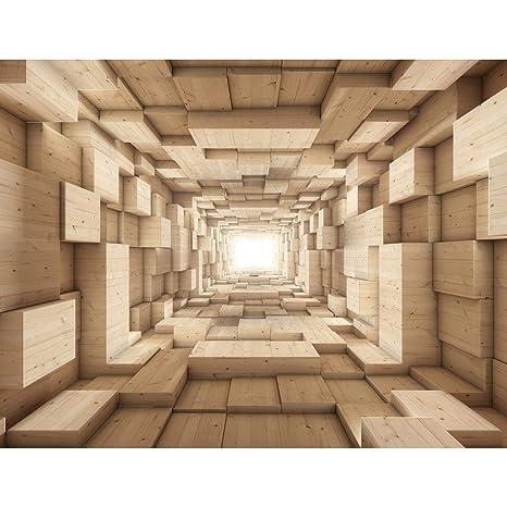 Fototapeten Holz Optik 352 x 250 cm Vlies Wand Tapete Wohnzimmer  Schlafzimmer Büro Flur Dekoration Wandbilder XXL Moderne Wanddeko - 100%  MADE IN ...
