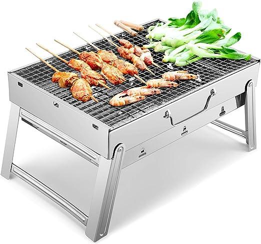 BestCool Barbecue au Charbon de Bois, Barbecue Portable