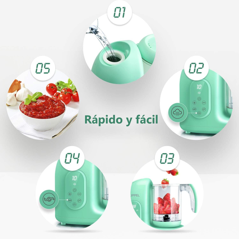 Robot de Cocina, UPPEL Licuadora Bebé Trituradora de Alimentos ...