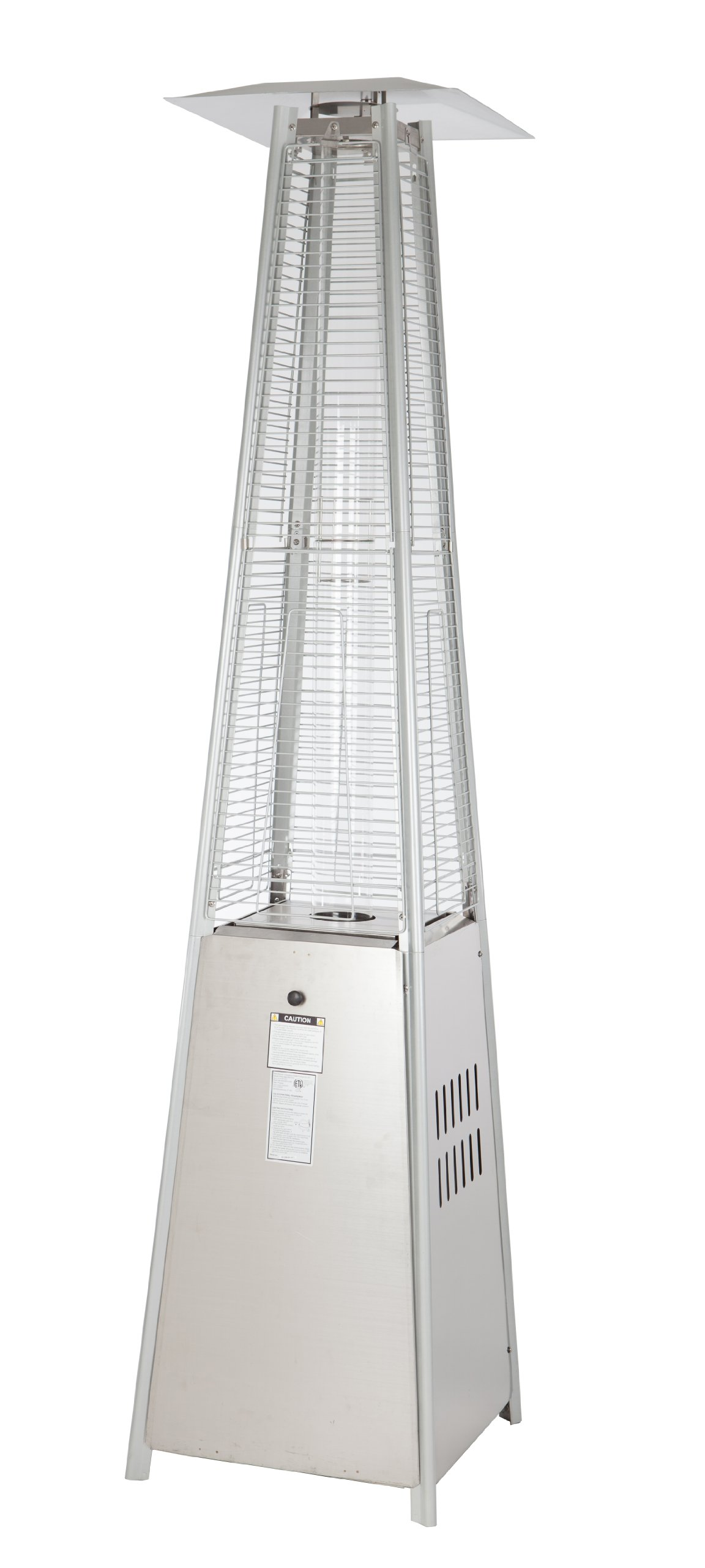 Fire Sense Stainless Steel Pyramid Flame Heater