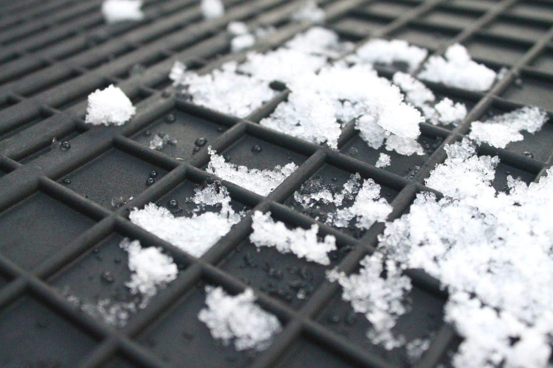 Fu/ßmatten Gummimatten Winter Auto-matten Gummi hoher Rand 4-teilig Set Satz