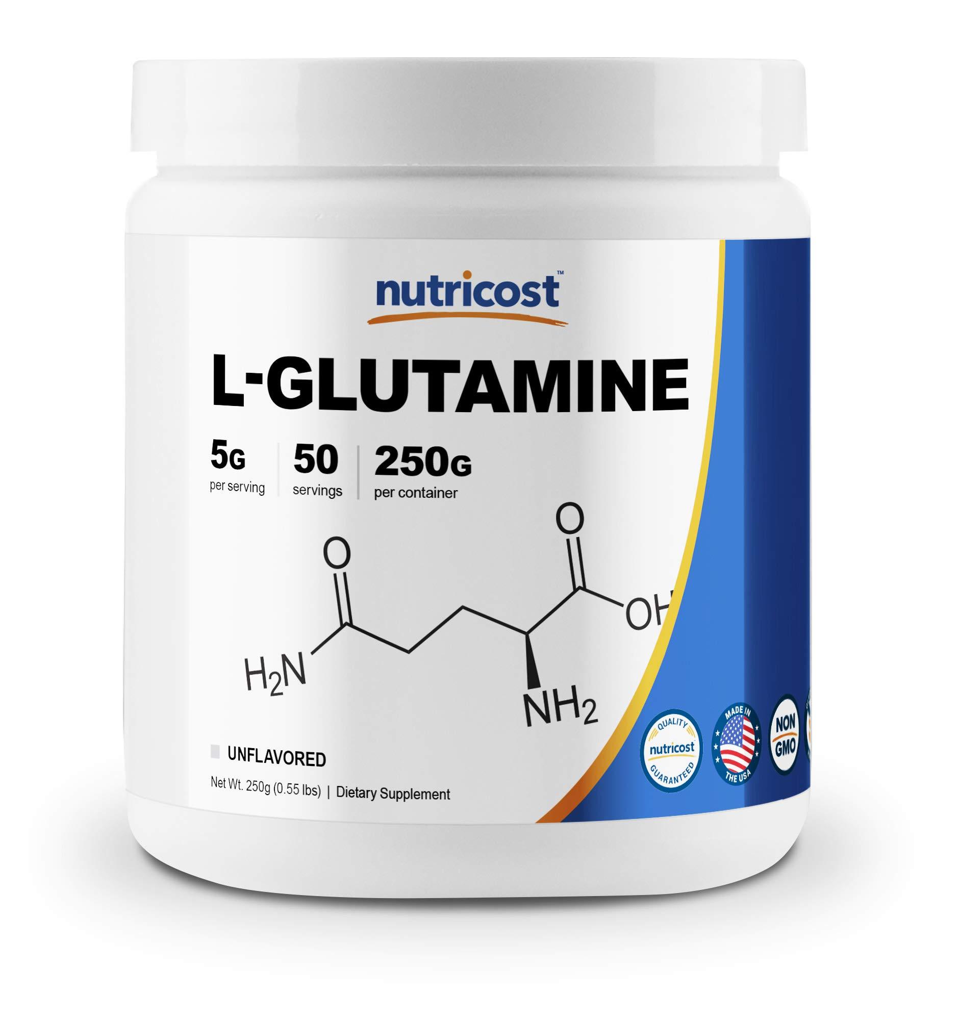 Nutricost L-Glutamine Powder 250 Grams by Nutricost