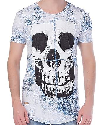 a1ffb55c698666 Red Bridge Men T-Shirts Skull Blue S: Amazon.co.uk: Clothing