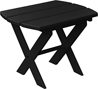 product image for Poly Folding End Table - Black