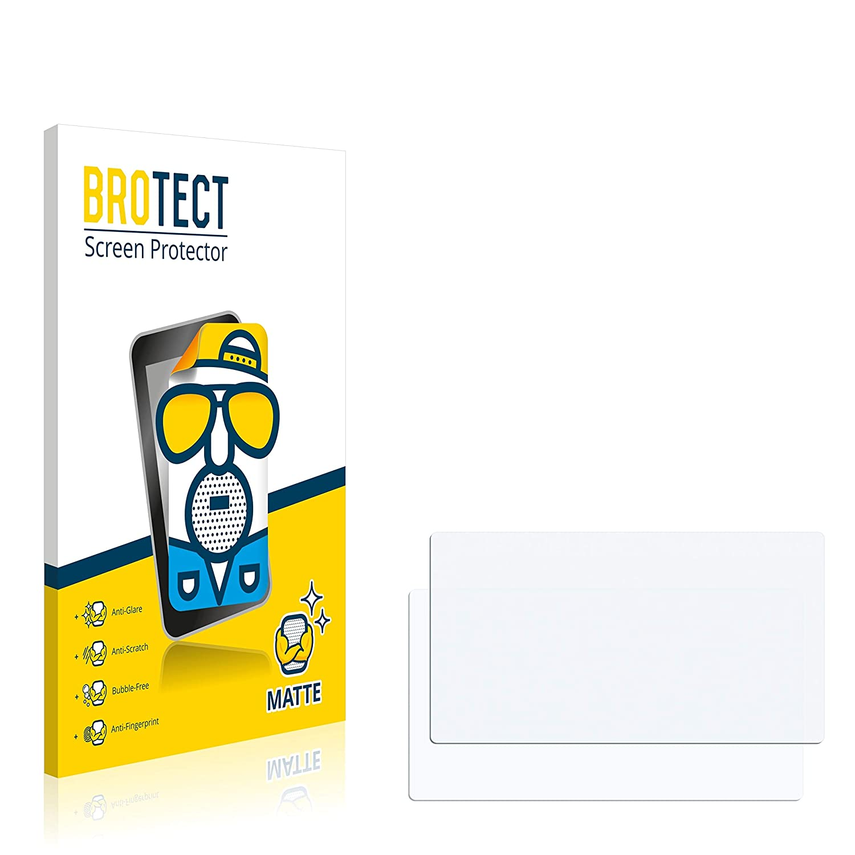 BROTECT Schutzfolie Matt f/ür Skoda Infotainmentsystem Columbus Kodiaq 2018 - Anti-Reflex Anti-Kratzer Anti-Fingerprint 2er Pack
