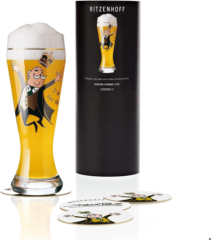 Ritzenhoff Max 88% OFF Weizen Today's only Glass 1998 Debora Jedwab
