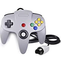 QUMOX Game Controller Joystick for Nintendo 64 N64 System GamePad Grey
