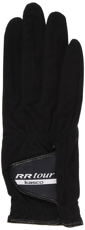 Kasco RR-1015 weatherproof golf glove for the left hand (Black, 22cm)