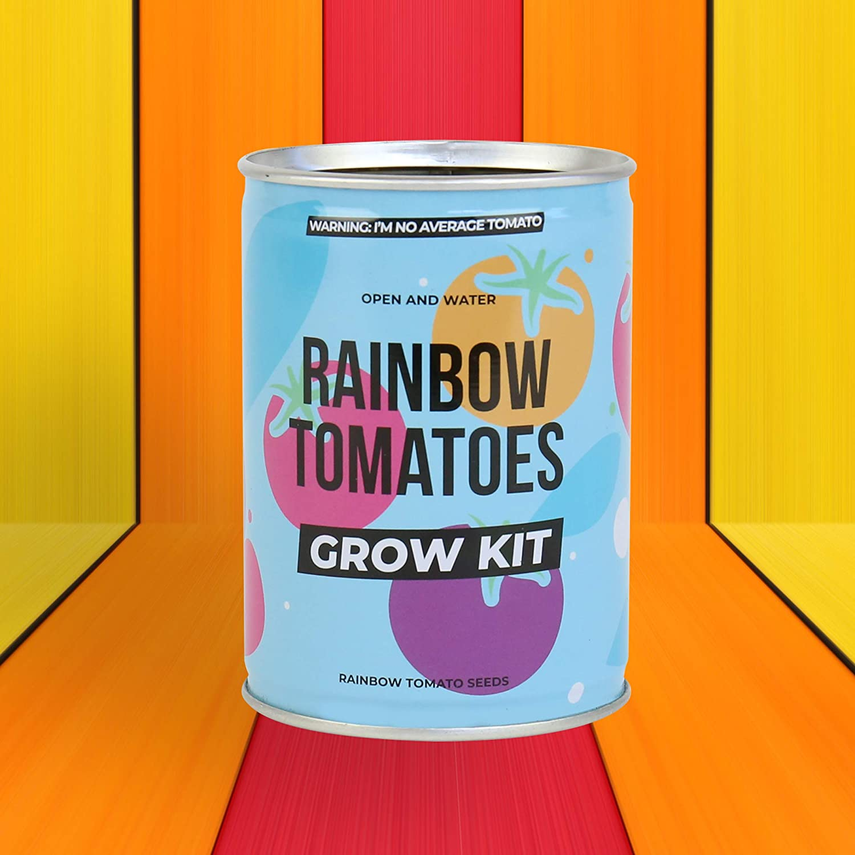 Grow Tin Rainbow Tomatoes