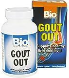 Bio Nutrition Inc Gout Out 60 Vcap