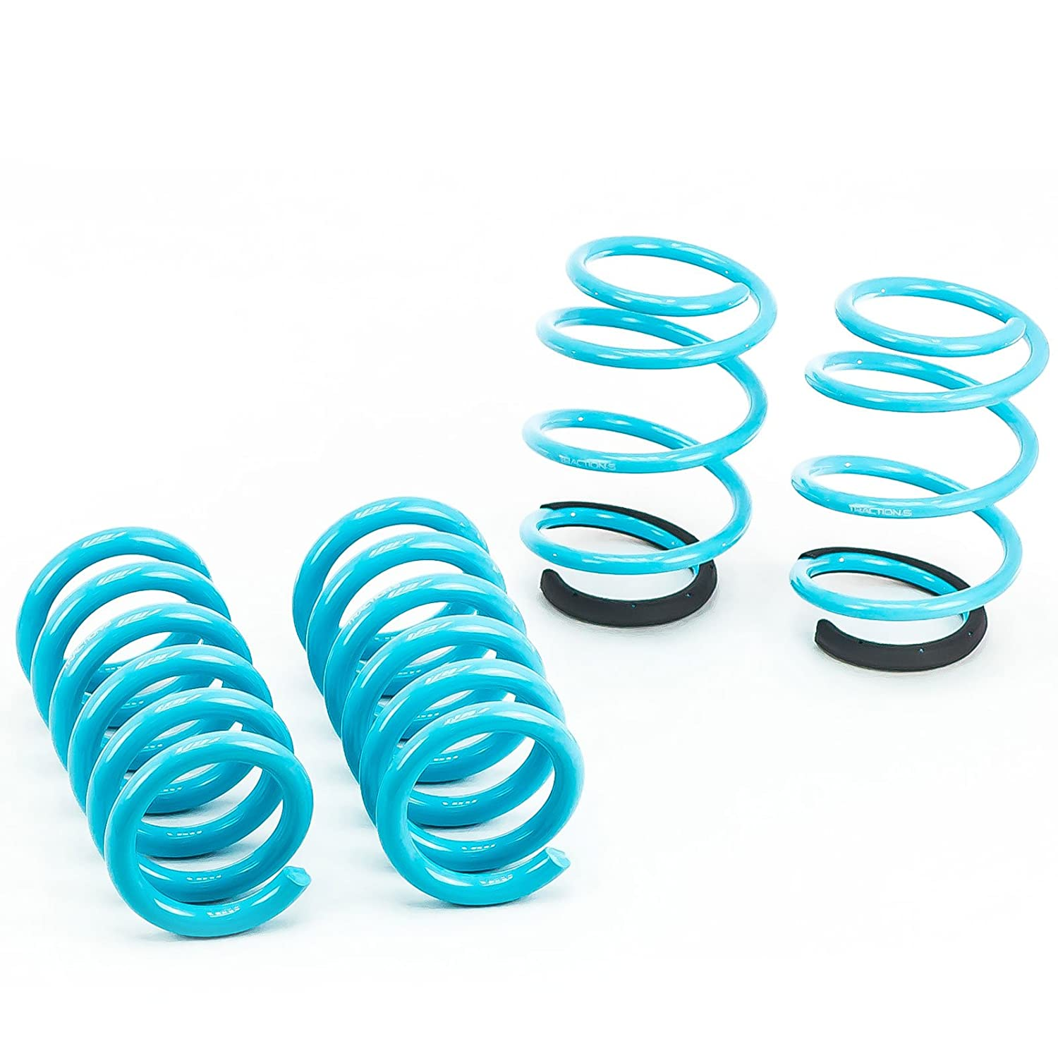 Godspeed LS-TS-FD-0004 Traction-S Performance Lowering Springs Reduce Body Roll Set of 4 Improved Handling
