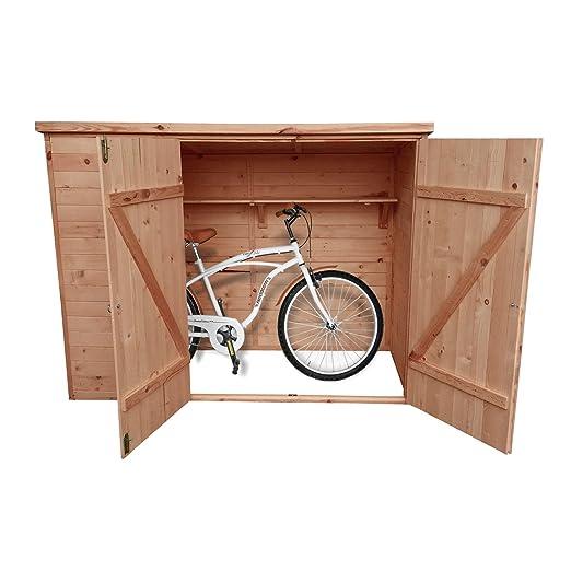 Caseta Bicicleta Box - 205 x 87 x 151 cm (Alto) - con bochemit ...