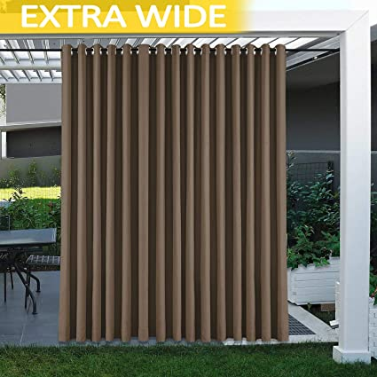 Stupendous Amazon Com Cololeaf Extra Long And Wide Curtains Home Interior And Landscaping Oversignezvosmurscom