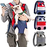Coppthinktu Dog Carrier Backpack - Legs Out Front-Facing Pet Carrier Backpack for Small Medium Large Dogs, Airline…