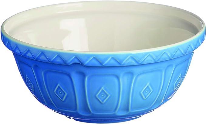 hellblau Steingut Mason Cash R/ührsch/üssel 29 x 29 x 14 cm