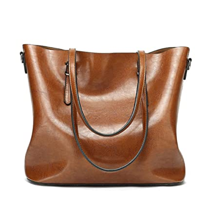 a7b9d62553 Buy Abshoo Women Soft Leather Handbags Tote Bags (Brown) Online at Low  Prices in India - Amazon.in