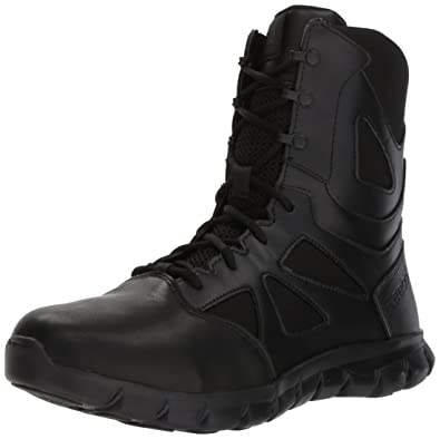 Reebok Mens Sublite Cushion Tactical RB8805 Military Boot, Black, ...
