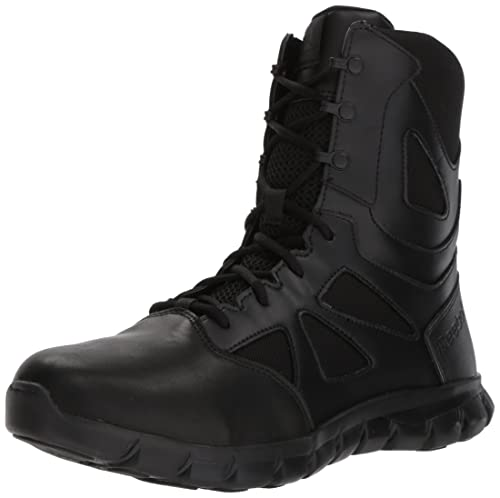 Reebok Mens Sublite Cushion Tactical RB8805 Military & Tactical Boot, Black, ...