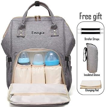 c63d4cf8cf Diaper Bag Mummy Backpack Multi-Function Traveling Backpack Large Capacity  Waterproof Nursing Bag for Baby