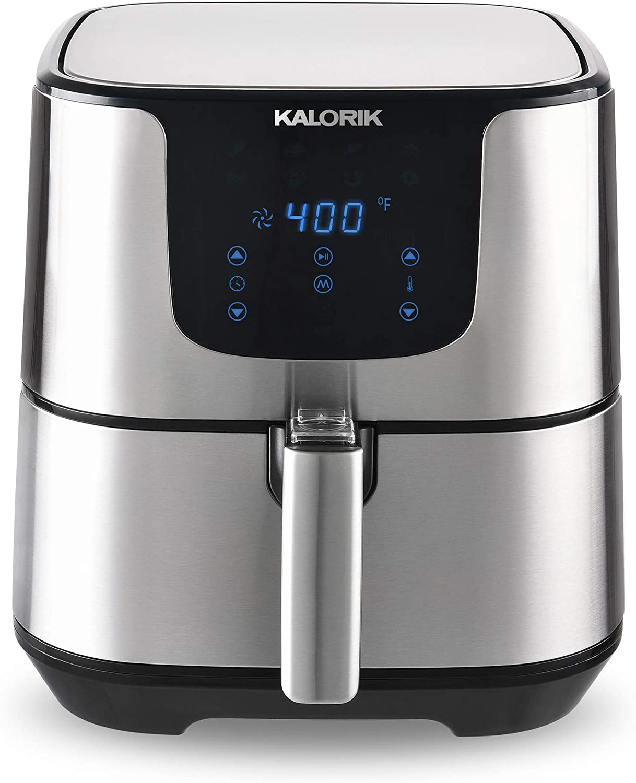 Kalorik 5.3 Quart XL Air Fryer Pro with Digital Touch Screen