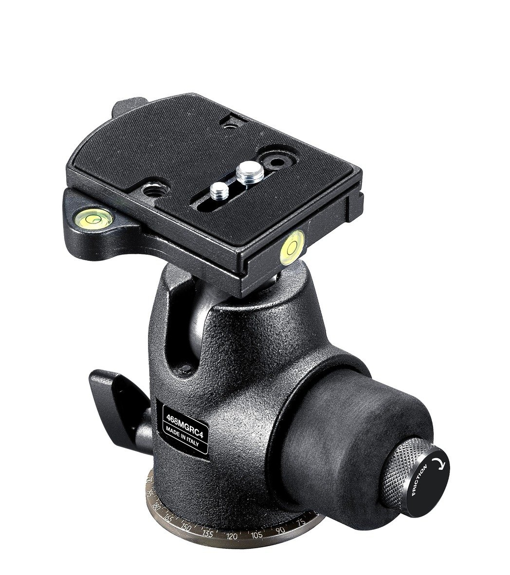 Manfrotto 468MGRC4 Hydrostatic Ball Head with RC4 Rapid...