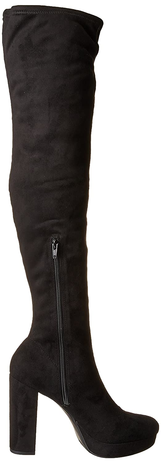 d25d37fdca7 Amazon.com  Madden Girl Women s Groupie Over The Over The Knee Boot  Shoes