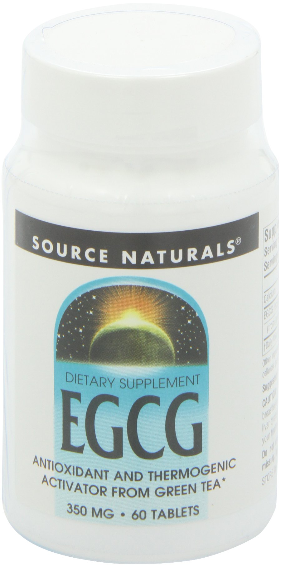 Source Naturals EGCG From Green Tea 350mg, 60 Tablets