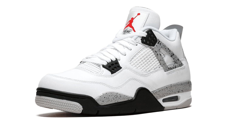 7c3eb1ae4f1 Nike Air Jordan 4 Retro ''Cement'' 840606-192 Men's Size 15 US: Amazon.in:  Shoes & Handbags