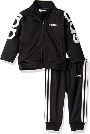 pulgar Instalaciones interior  Amazon.com: adidas - Conjunto de chaqueta y pantalón para niño: Clothing