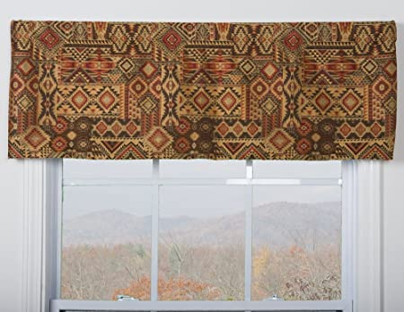 Victor Mill El Paso Tailored Valance